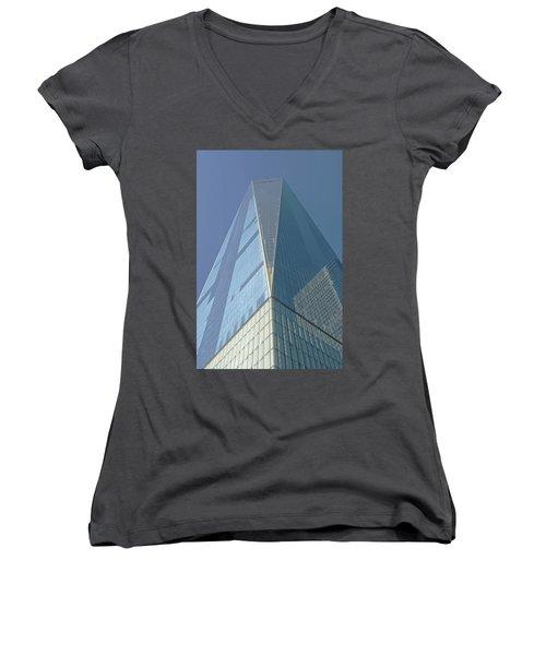World Trade Center 2016 Women's V-Neck (Athletic Fit)