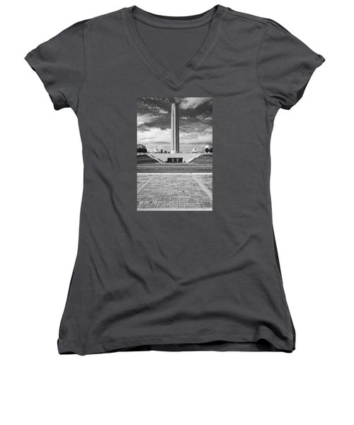 World War I Memorial And Museum Women's V-Neck (Athletic Fit)