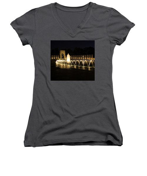 World War Memorial Women's V-Neck