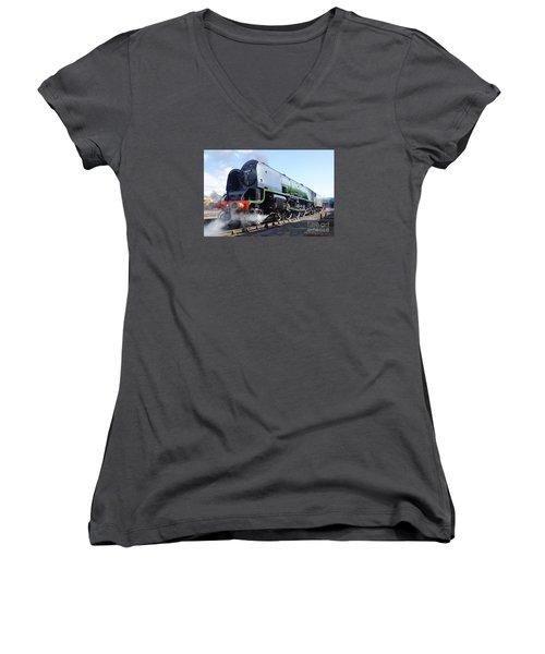 Worm's Eye View Women's V-Neck T-Shirt