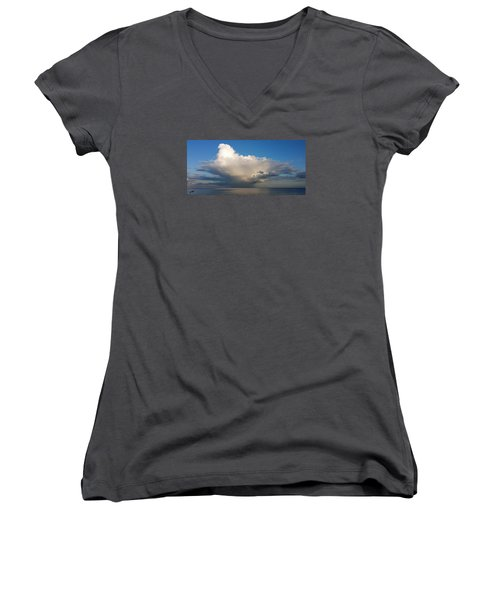 Worthing Cloudscape2 Women's V-Neck T-Shirt