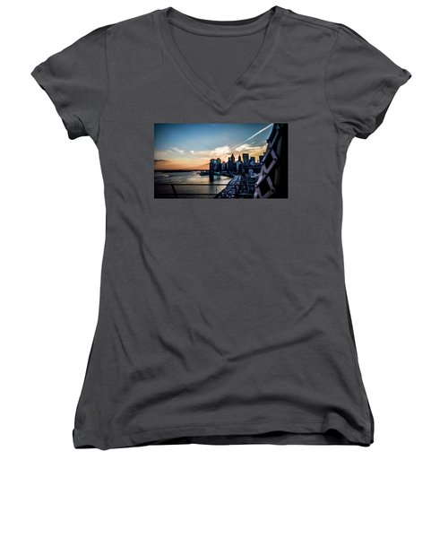 Would You Believe Women's V-Neck (Athletic Fit)