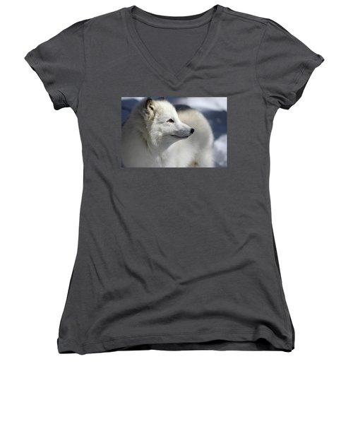 Yana The Fox Women's V-Neck T-Shirt