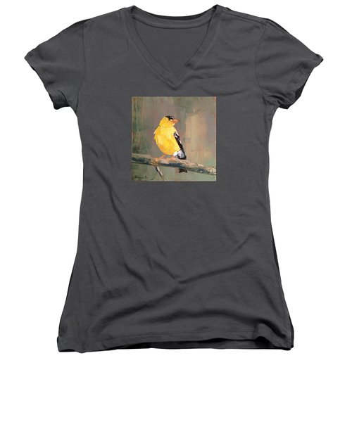Yellow Finch Women's V-Neck