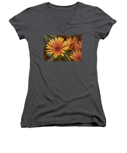 Yellow Petals #g3 Women's V-Neck