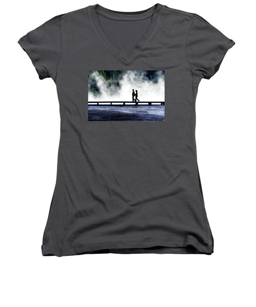 Yellowstone Walkers Women's V-Neck