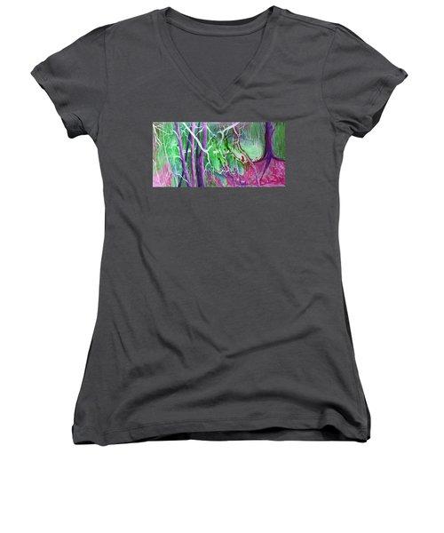 Yesterday's Dream Women's V-Neck T-Shirt