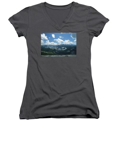 Yosemite Panoramic Women's V-Neck (Athletic Fit)