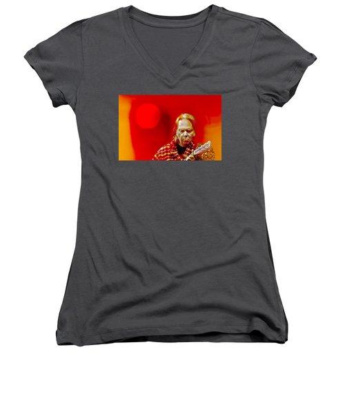You Keep Me Searching Women's V-Neck T-Shirt (Junior Cut)
