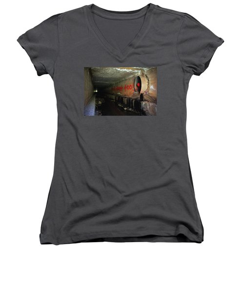 You'll Float Too Women's V-Neck (Athletic Fit)