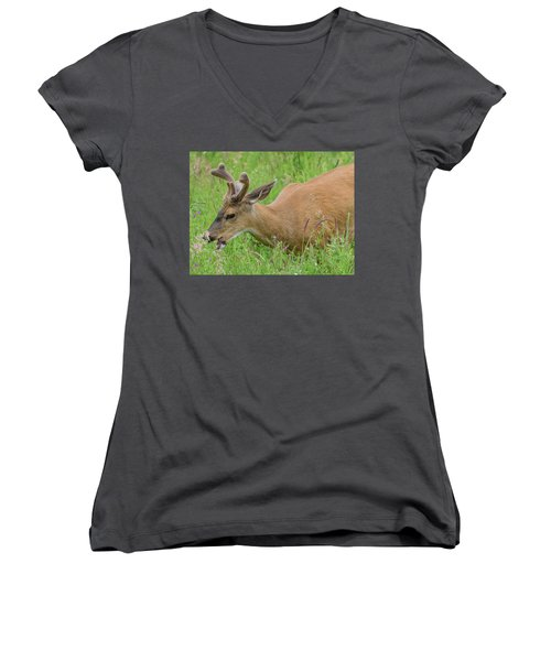 Young Buck Women's V-Neck (Athletic Fit)