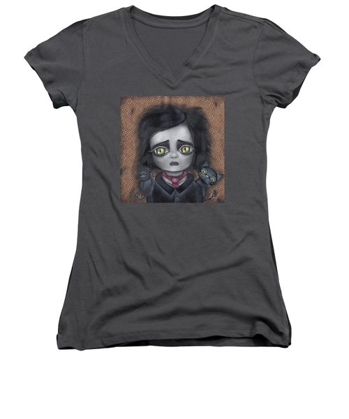 Young Poe Women's V-Neck (Athletic Fit)