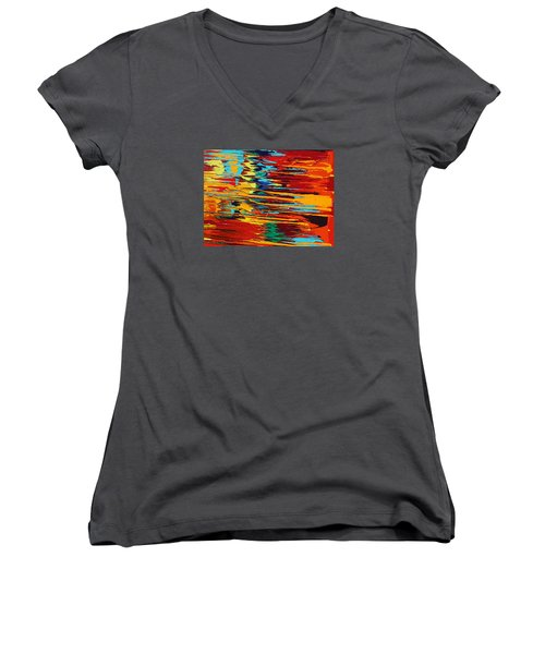 Zap Women's V-Neck T-Shirt