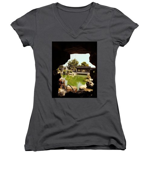 Zen Garden Women's V-Neck