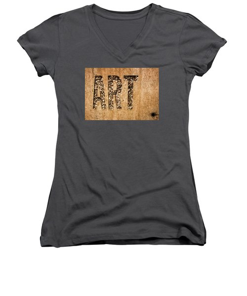 art Women's V-Neck