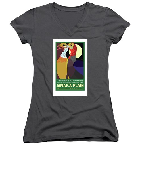 Date Night Jp Women's V-Neck