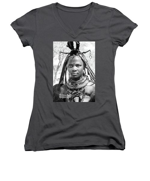 Himba Girl Women's V-Neck