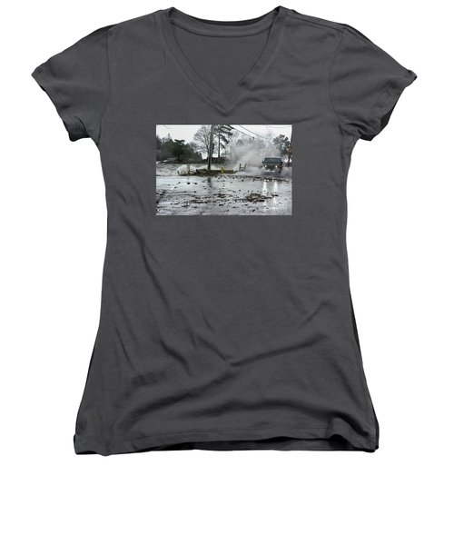 Jeep Splash Women's V-Neck