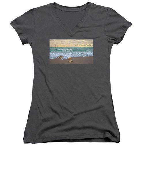 Jupiter Beach Women's V-Neck