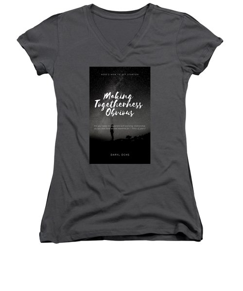 Making Togetherness Obvious Women's V-Neck