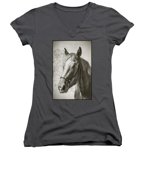 Old West Transportation Women's V-Neck