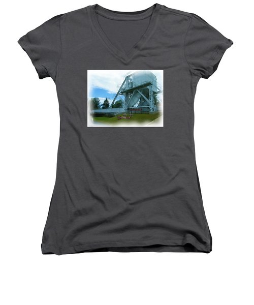Pegasus Bridge Women's V-Neck