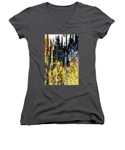 1 Peter 1 7. Tested By Fire Women's V-Neck