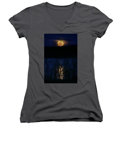 Snow Moon Women's V-Neck