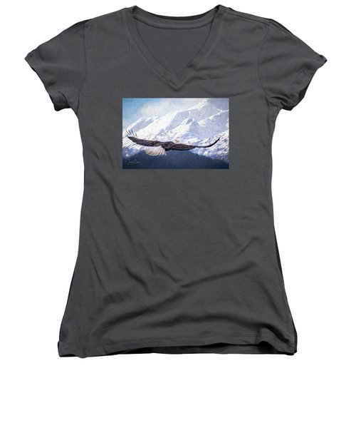 To The Hills... Women's V-Neck