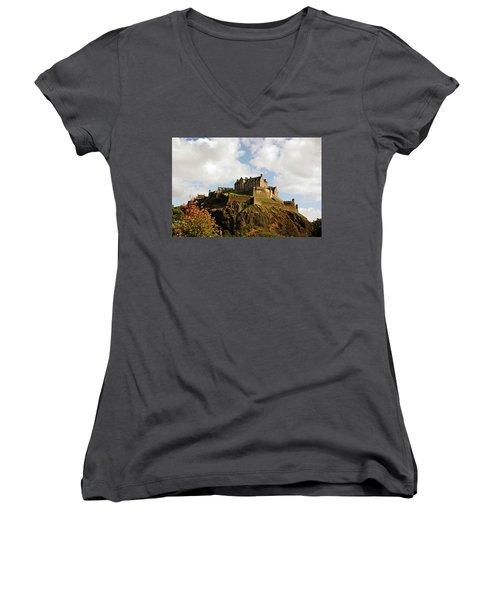 19/08/13 Edinburgh, The Castle. Women's V-Neck
