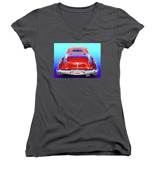 1949 Buick Cruiser Women's V-Neck