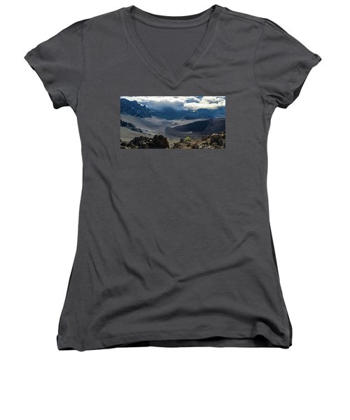 Haleakala Crater Women's V-Neck