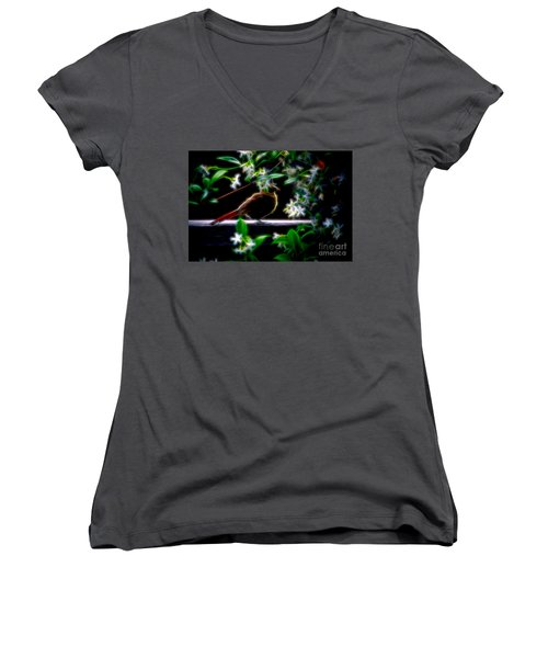 In The Shadows Women's V-Neck
