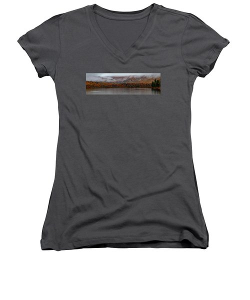 The Basin In Maine Women's V-Neck