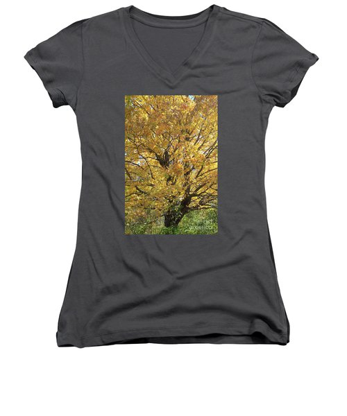 2018 Edna's Tree Up Close Women's V-Neck