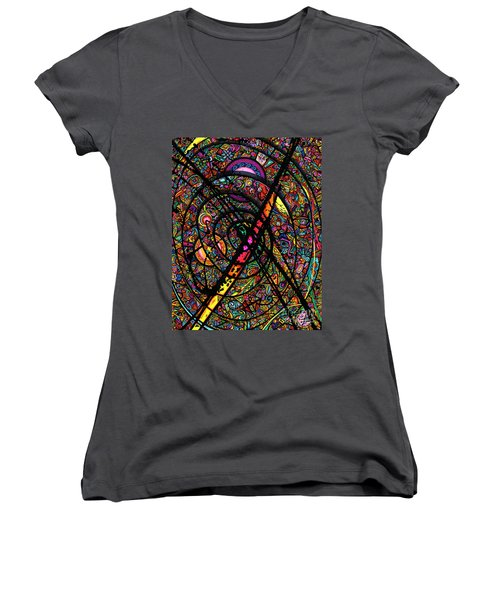 25 Faces Women's V-Neck