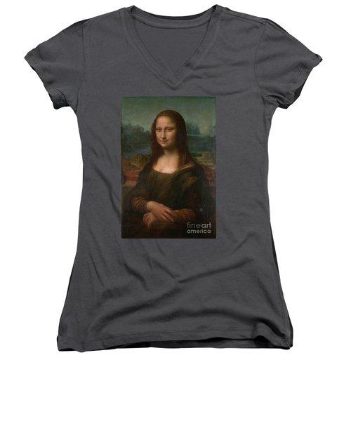 Mona Lisa Women's V-Neck