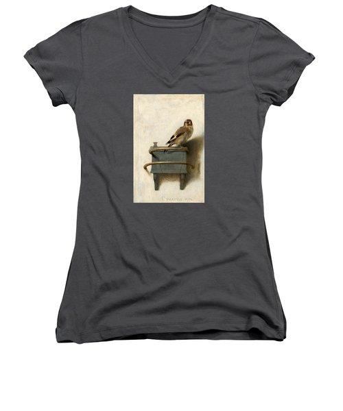 The Goldfinch Women's V-Neck