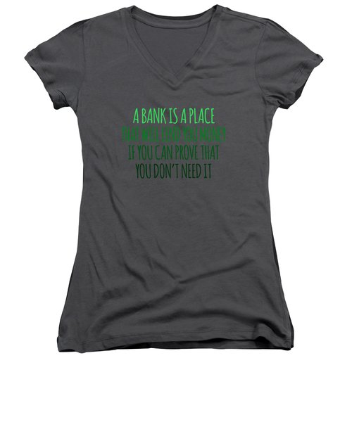 A Bank Women's V-Neck