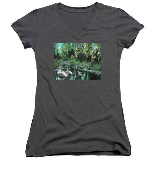 A Day Out Women's V-Neck