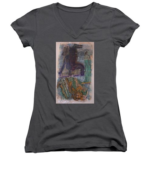 A Pawn On Life's Board Women's V-Neck