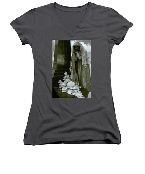 A Soliders Grave Women's V-Neck