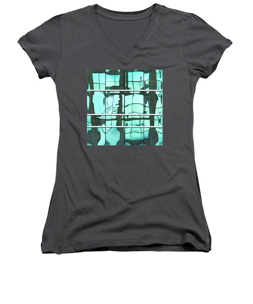 Abstritecture 36 Women's V-Neck