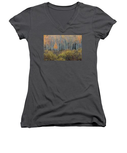 Alone In The Crowd Women's V-Neck