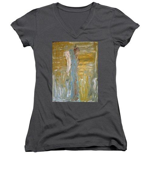 Angels In Prayer Women's V-Neck