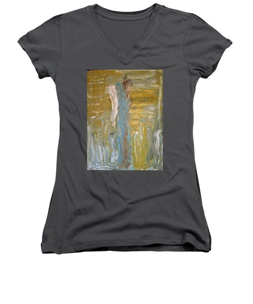 Angels In Prayer Women's V-Neck