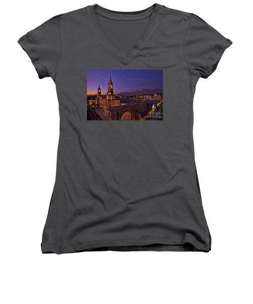 Arequipa Is Peru Best Kept Travel Secret Women's V-Neck