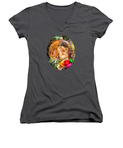Old Kris Kringle Women's V-Neck