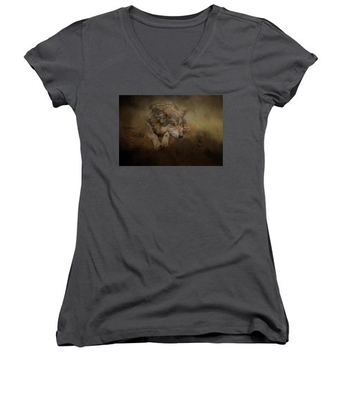 At Rest Women's V-Neck