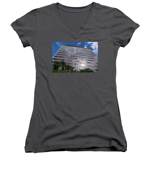 Augusta University Building 1 Women's V-Neck